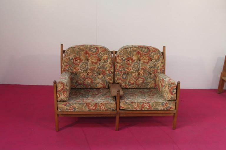 Banquette et fauteuil
