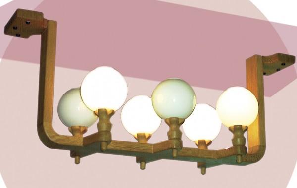 Lustre Albin 6 lampes