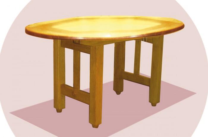Table ovale petit modèle