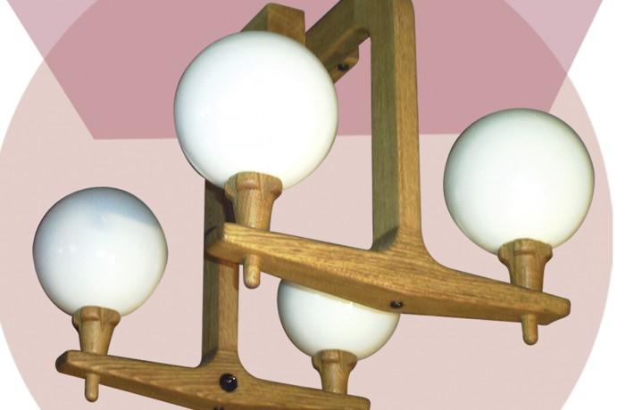 Lustre Albin 4 lampes